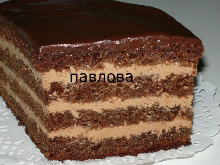 Рецепт тортов в разрезе